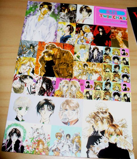 Yami no Matsuei (Descendants of Darkness) sticker sheet