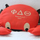 Phi Delta Theta Fraternity CRAB 1960 Christmas Formal Plush Autograph Mascot