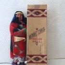 Antique MINNETONKA Indian Native American Skookum Doll with Original Box 1930s 1940s Alaskan