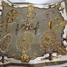 1960s Hermes ROUES de CANON Caty Latham Cannon Scarf