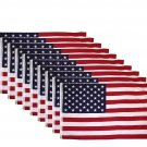10 LOT new United States Flag 3 x 5 foot American Flag USA American flag Polyester