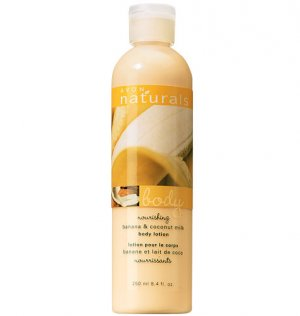 NATURALS-BANANA&COCONUT MILK BODY LOTION