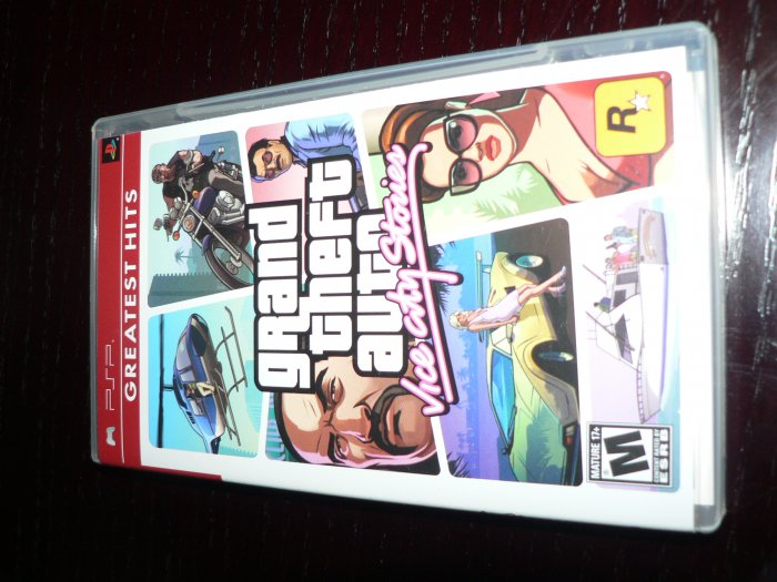 Grant Theft Auto PSP Game