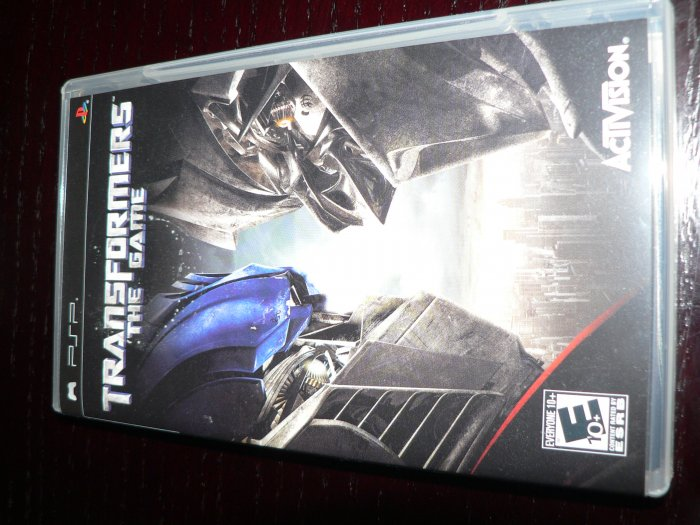 Transformers Sony PSP Game