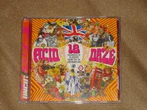 Uncut73  Acid Daze  CD - June 2003. Syd Barrett, Kevin Ayers,  The Move.