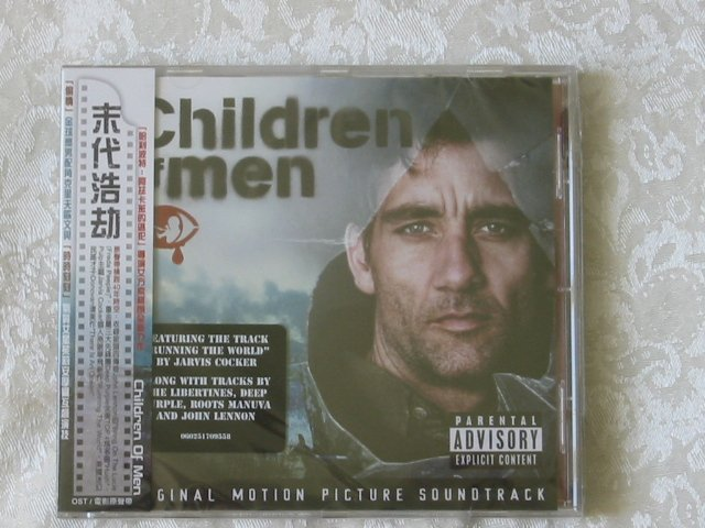 CHILDREN OF MEN � ORIGINAL SOUNDTRACK CD.