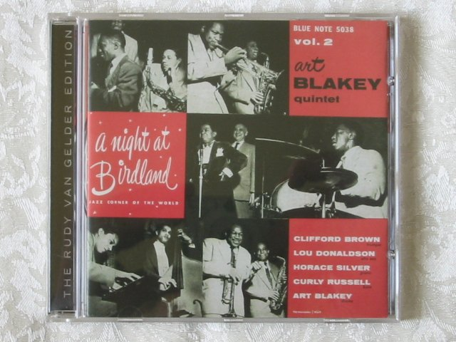ART BLAKEY - A NIGHT AT BIRDLAND  Vol. 2 - New CD