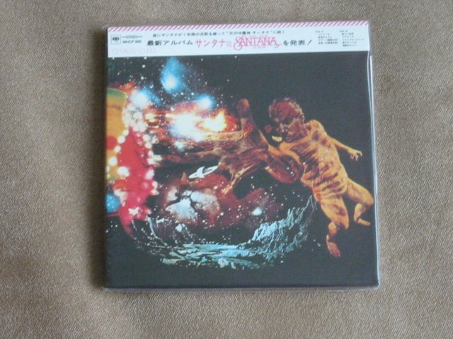 SANTANA 3 - JAPAN MINI LP - New and sealed CD