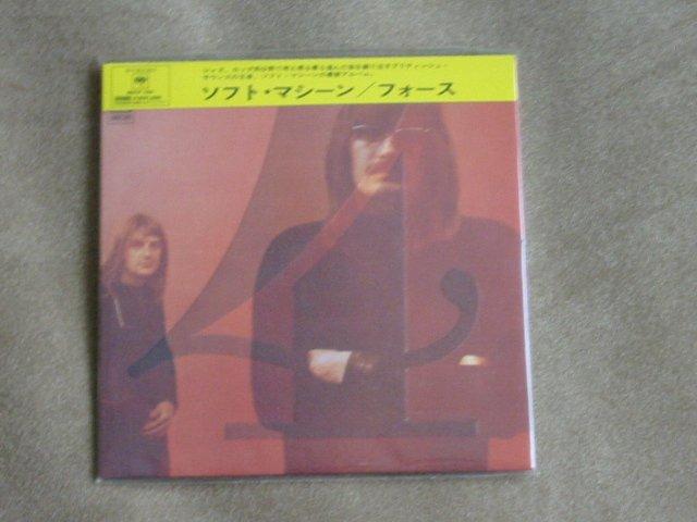 SOFT MACHINE 4 - JAPAN MINI LP - New and sealed CD