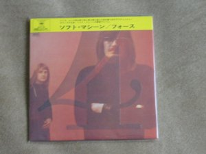 SOFT MACHINE 4 - JAPAN MINI LP - New and sealed CD