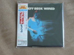 JEFF BECK - WIRED - JAPAN MINI LP - New and sealed CD