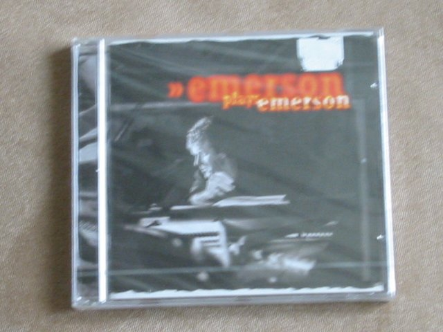 Emerson plays Emerson (Keith Emerson from E.L.P.)