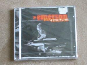 Emerson plays Emerson (Keith Emerson from E.L.P.)