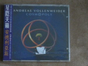 ANDREAS VOLLENWEIDER - COSMOPOLY - NEW CD