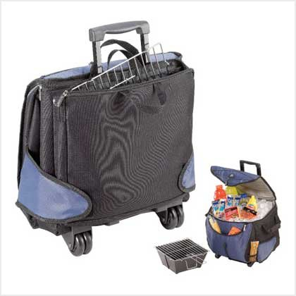 #  38865FOLD-N-GO GRILL/COOLER COMBO
