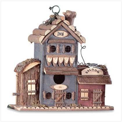 "#  30203 This ""Bird and Breakfast"" birdhouse"