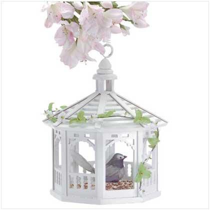 #  30209 This gazebo-style bird feeder