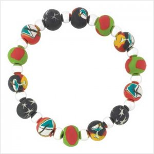 #  39105   Jazzy stretch bracelet