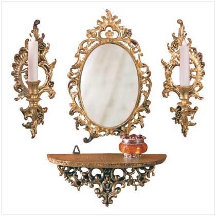 #  21310   Baroque mirror