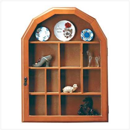 #   21923 Wall-mounted curio hutch