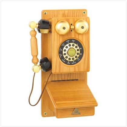 #   36966     Wooden Wall Phone