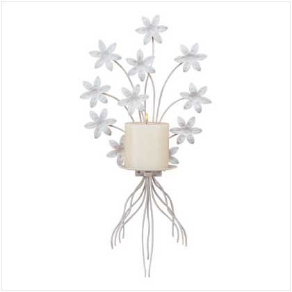 #32033 Unique wall-decoration candle holder