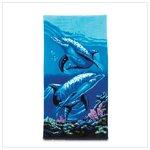 #36020 Beach Towel Dolphins
