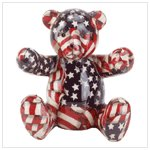 # 33824 Patriotic Patchwork Bear Bank