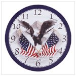 # 34103 Soaring Eagle Wall Clock