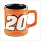 # 37406 Tony Stewart Sculpted Mini-Mug Shotglass