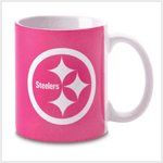 # 38571 Pink Pittsburgh Steelers Mug