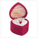 # 38229 Gift Of Love Glass Bear In Box