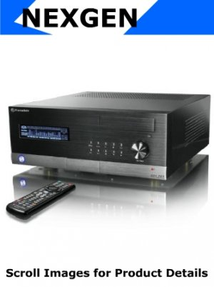 "NexGen Home Theater PC - Advanced HTPC - ""Believe"" inc. Blu-Ray, TV Tuner, DiNova Keyboard, & More"