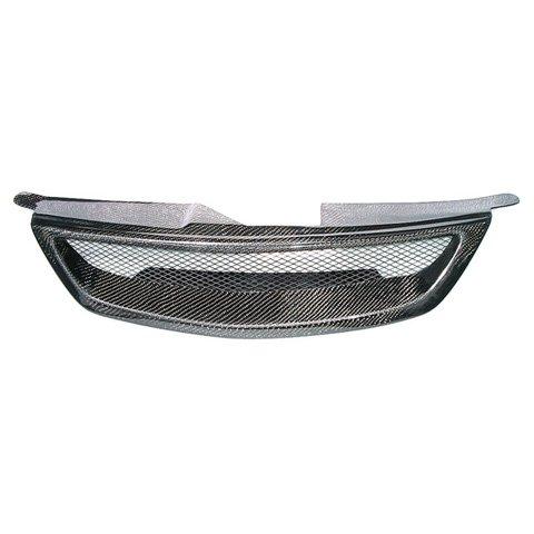Mazda Protege 2001-2003 Carbon Fiber Mesh Grille