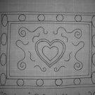 Big Love rug hooking pattern