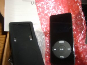 mp3/mp4 player 1g of space