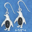 STERLING SILVER HP PENGUIN EARRING EA-3727
