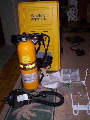 MSA WorkMask II SCBA Air Supply Pak - Stock # MMFT-005