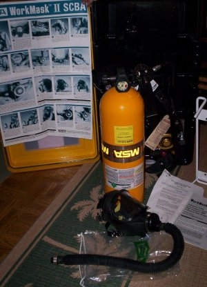 MSA WorkMask II SCBA Air Supply Pak - Stock # MMFT-0013