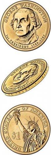2007-P Washington Presidential Dollars Gem BU