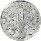 2013 Austrian Philharmonic 1 oz .999 Fine Silver