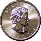 Brand New 2014 Canadian 1oz Five Dollar Silver Maple Leaf.