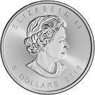 Brand New 2016 Canadian 1 oz Five Dollar Silver Maple Leaf.