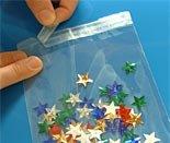 "(50) Polypropylene 2 ¾ ""X 3 ¾ "" Lip-n-Tape Bags Re-sealable"