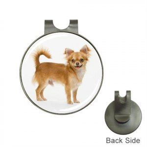 Chihuahua Dog Golf Ball Marker Hat Clip and Ball Marker NEW