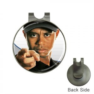 Tiger Woods Ball Marker Hat Clip and Golf Ball Marker NEW