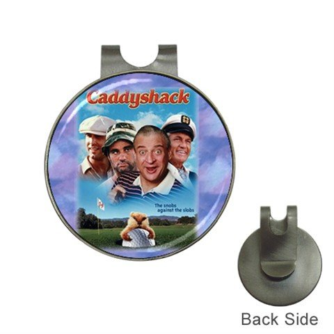 Movie CADDY SHACK  Ball Marker Hat Clip and  Golf Ball Marker NEW