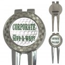 100 BULK Custom Golf Divot Tool 3-in-1 Customize Promotional Item Personalize It