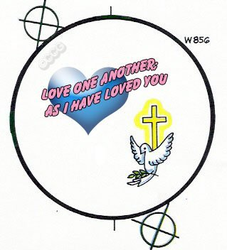 Love One Another as I Have Loved You Button