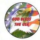 God Bless the USA Button